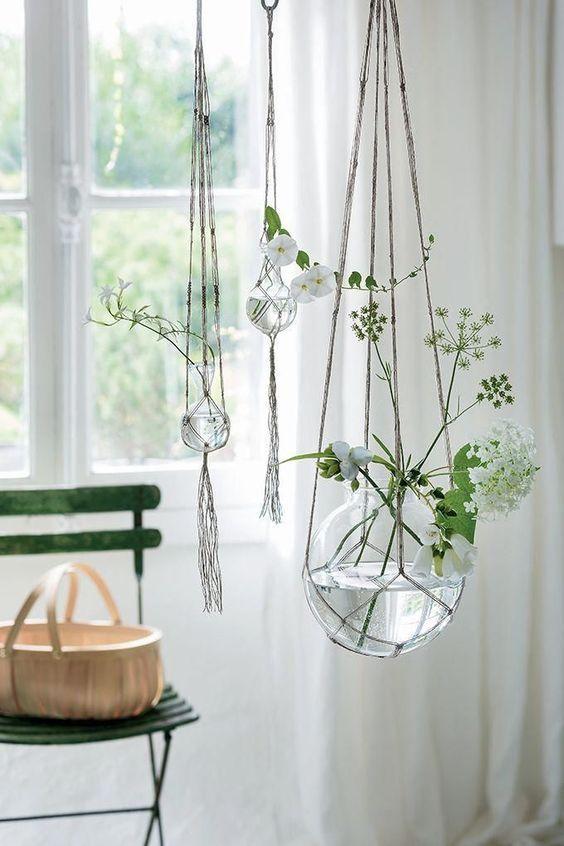 Ideen für hängende Pflanzen in Innenräumen; DIY hängende Pflanzen; fensterhängende Pflanzen; hängen ... - #DIY #fensterhängende #für #hängen #hängende #Ideen #Innenräumen #Pflanzen #hangingplantsindoor