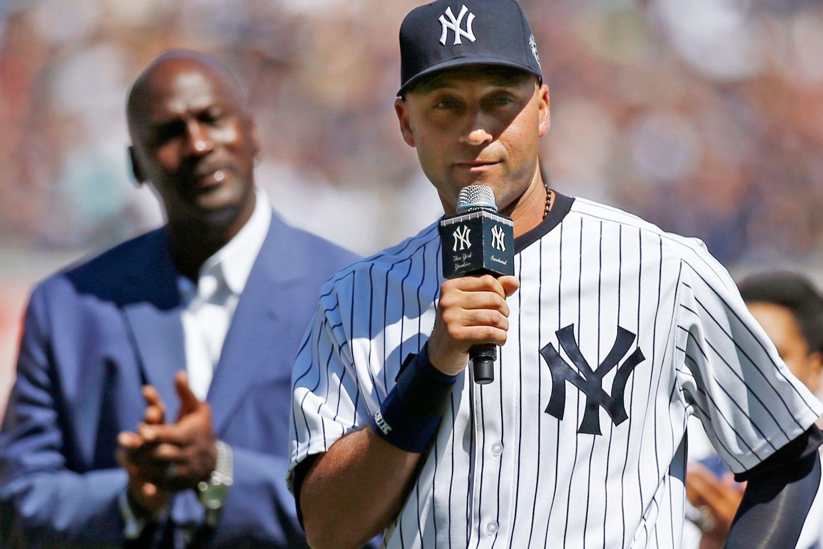 Michael Jordan Pens A Sincere Letter Praising Derek Jeter And His Legacy Derek Jeter New York Yankees Michael Jordan