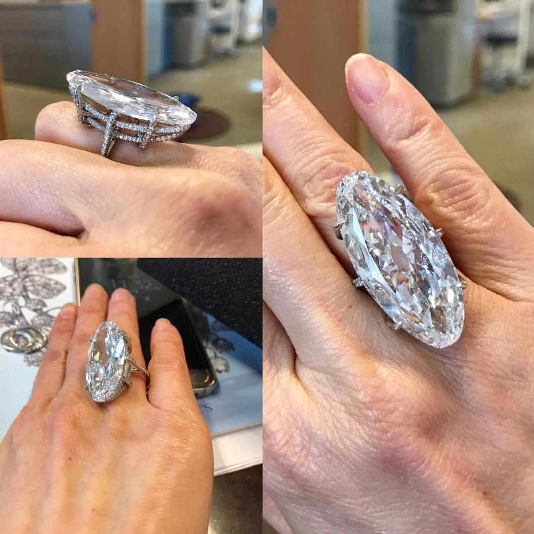 The ultimate diamond ring by jar a carats d vvs elongated