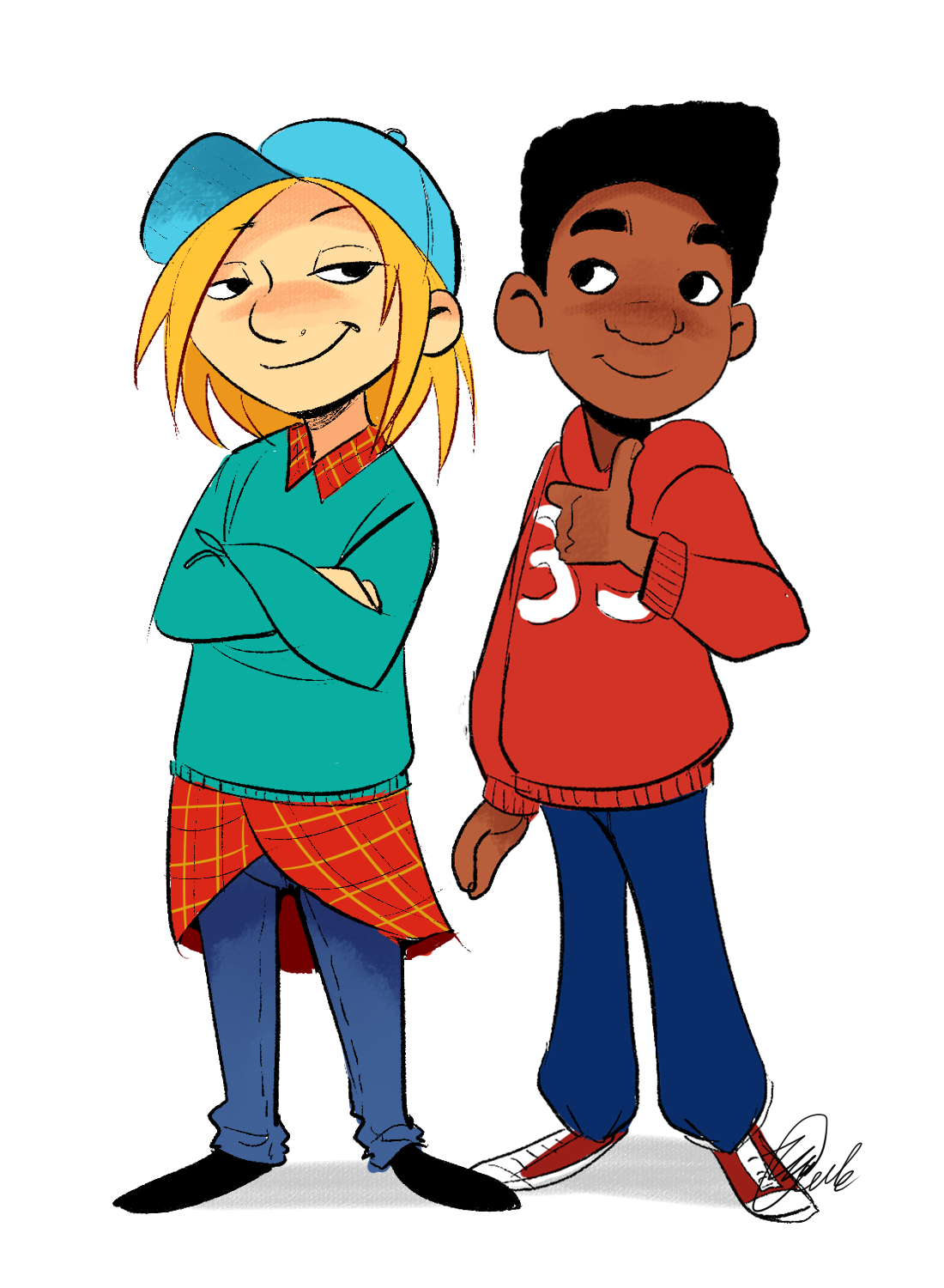 Hey Arnold Arnold And Gerald