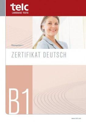 Telc Zertifikat Deutsch B1 Pdf Deutsch Lernmaterialien Deutsch