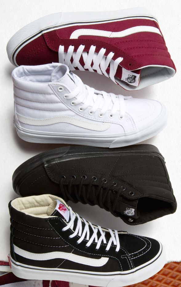 8f6400cf01 Every day is a good day for Vans sk8 his