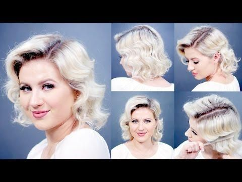 Retro Finger Waves Short Hairstyles | Milabu | hair styles ...