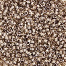 DB0907 - Inside Color Lined Crystal/Taupe - Size 11