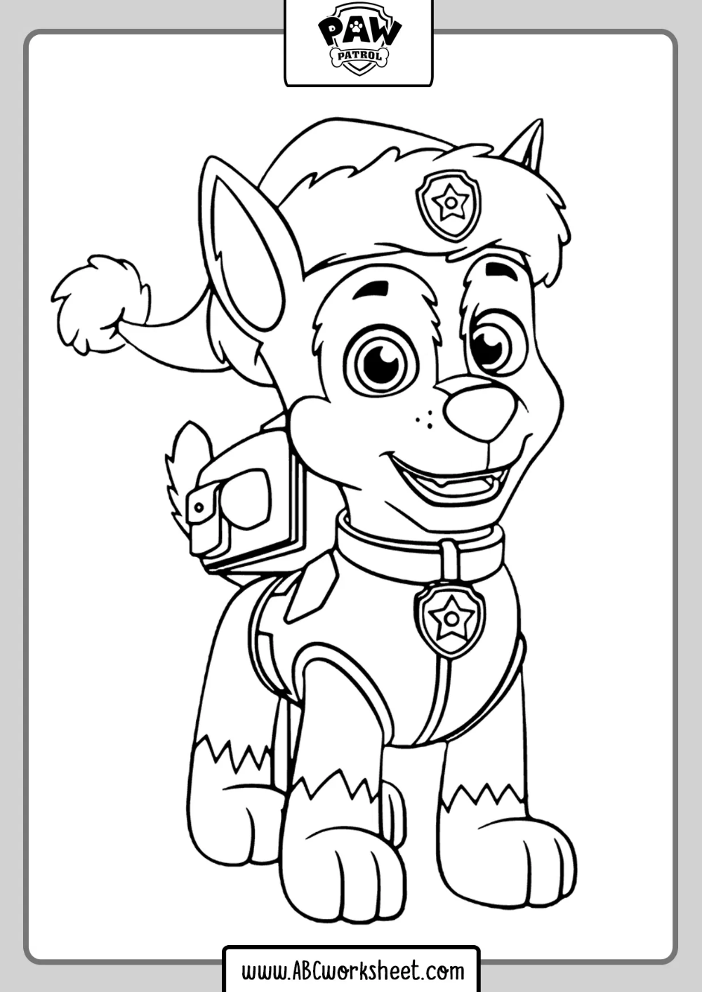 Marshall Paw Patrol Drawings fot coloring in 2020 | Paw ...