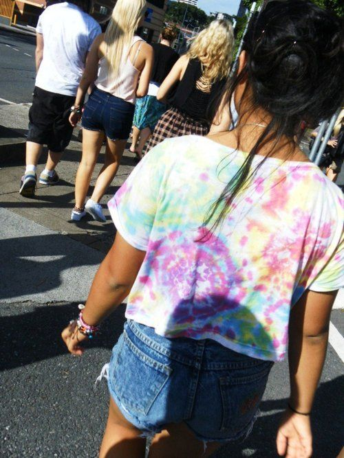 tie dye shirts are cool