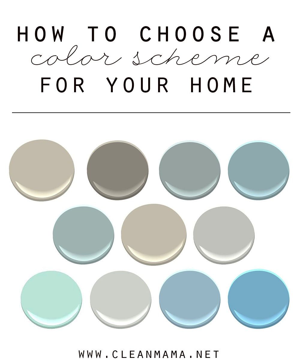 How To Choose A Color Scheme For Your Home Beautiful