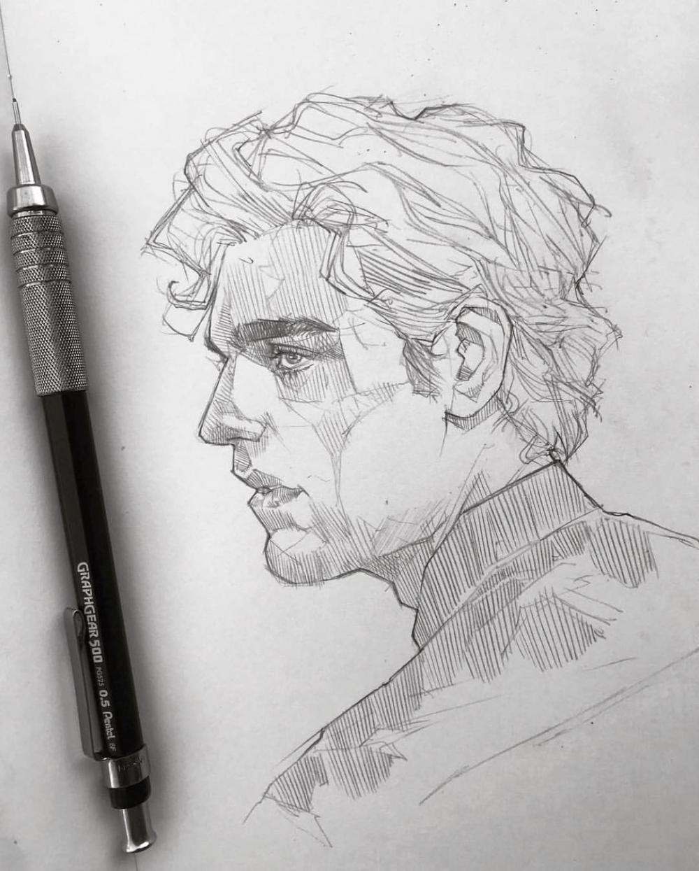 Pencil Sketch artist Efraín Malo in 2020 | Sketches ...