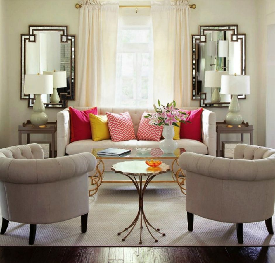 Design Tips For Living Room Study In Symmetry Small Living Room  Small Living Room Ideas