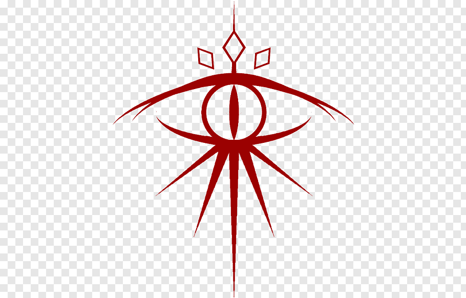 Sauron Line Lord Of The Rings Middleearth One Ring Tattoo Drawing Symbol Logo Free Png Lord Of The Rings Tattoo Lord Of The Rings Red Cross Symbol