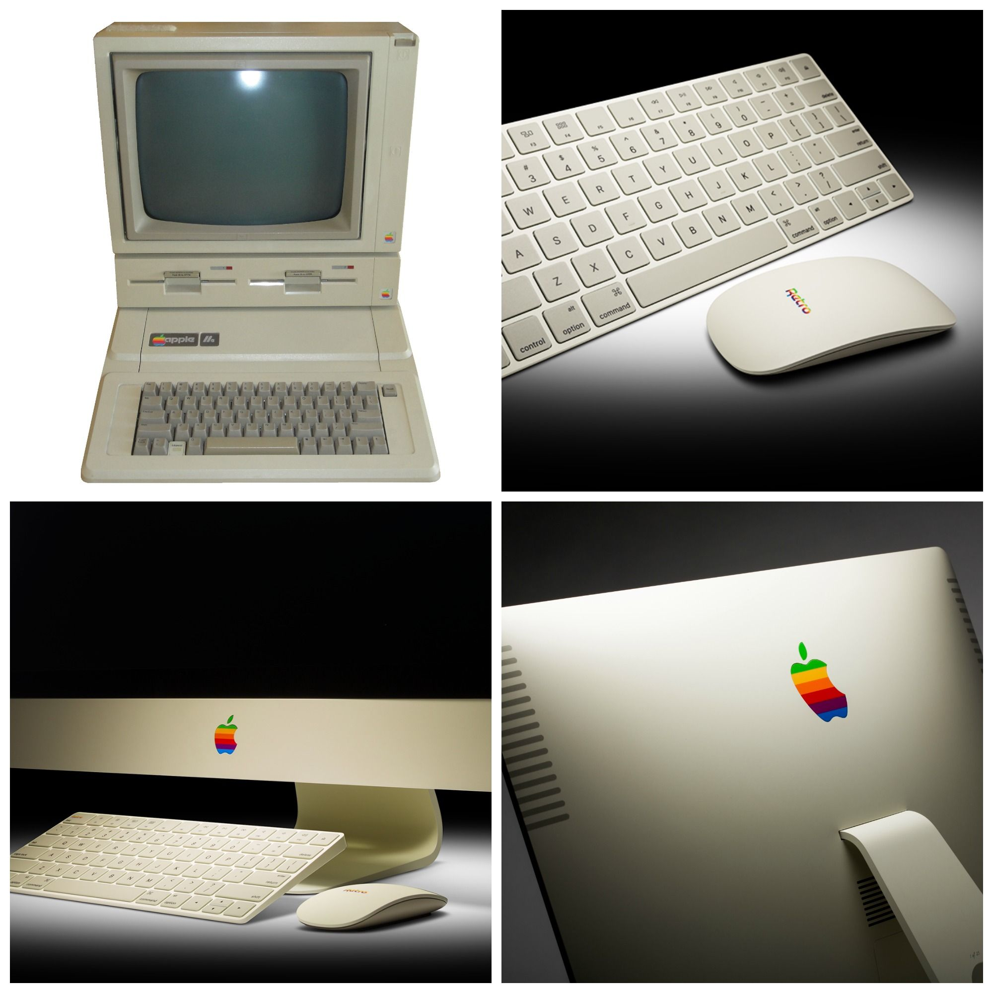 apple desktop computer. upgrade your boring apple desktop computer with retro nostalgia from colorware! buy our imac to office experience.