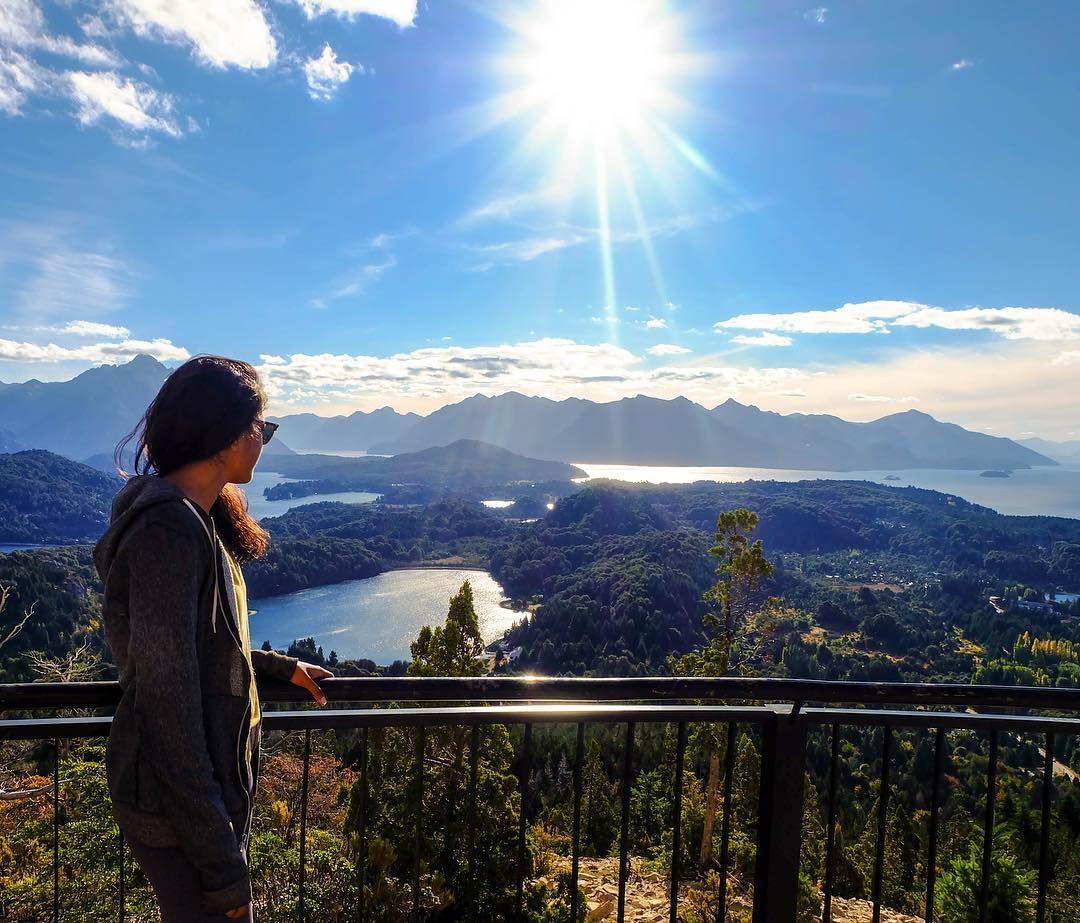 Ending the 25km Circuito Chico bike ride around #Bariloche on top ...