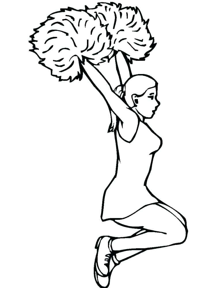 Hello Kitty Cheerleader Coloring Pages Printable Di 2020