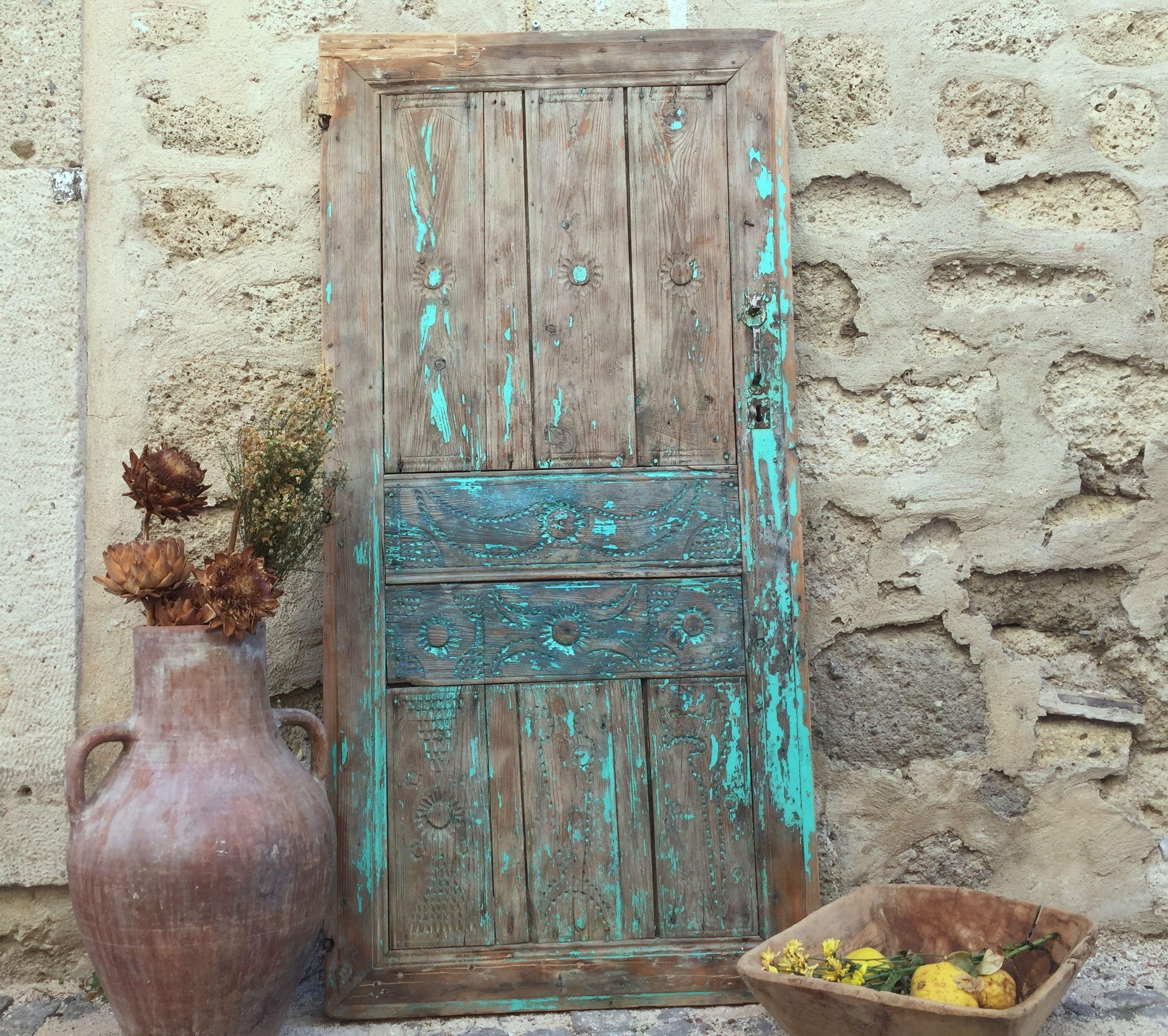 Rustic Door Wedding Ideas: Decorative Rustic Old Wood Door,Antique Vintage Door (con