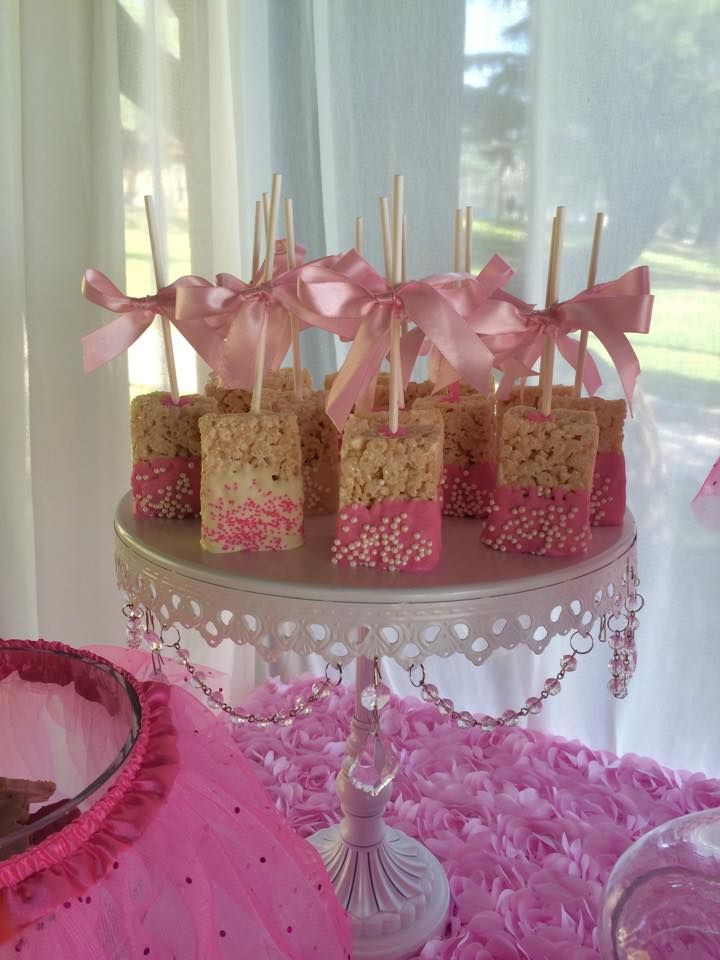 Tutu and tiara baby shower treats party ideas in 2019 - Decoration baby shower girl ...