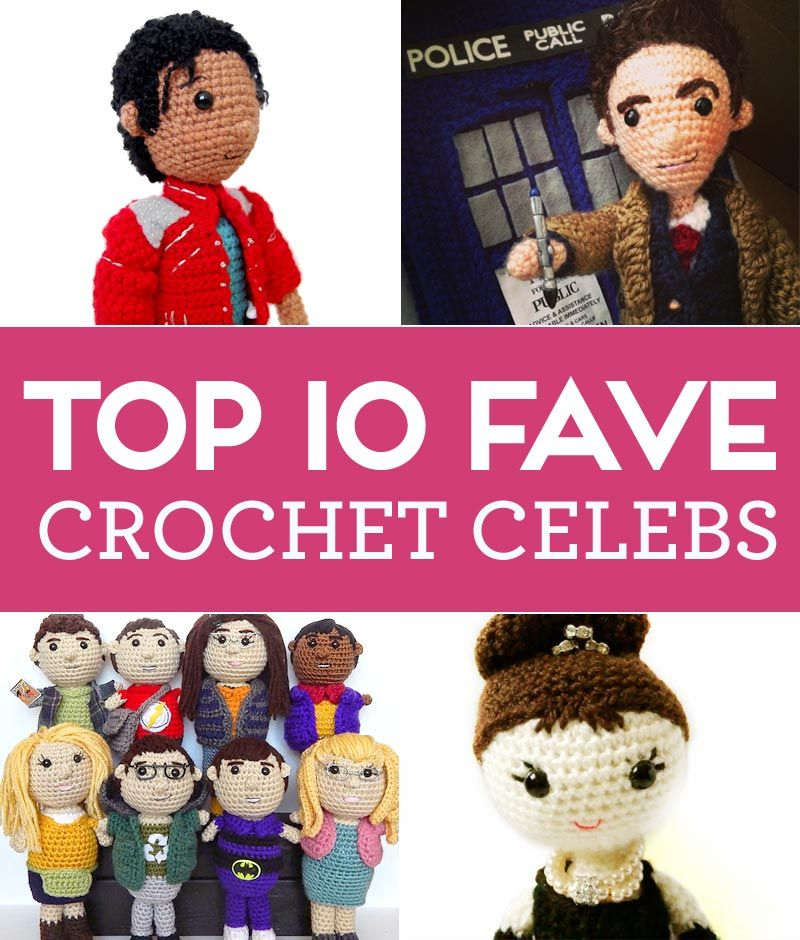 Top 10 Fave Crochet Celebs and all the patterns are FREE! | ihmis ...