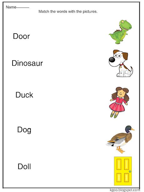 تمارين متنوعة وأوراق عمل لشرح حرف D للأطفال Dog Doll Dolls Dinosaur