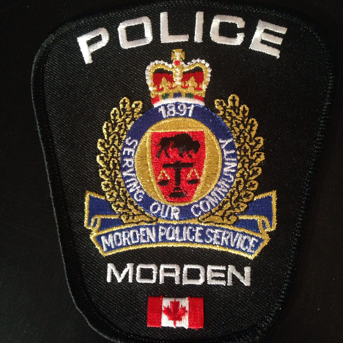 Morden Manitoba Police Current Issue 2015 Police badge