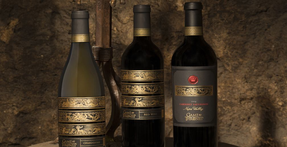 Game Of Thrones Wines Debut With Chardonnay Red Blend Cabernet Sauvignon Game Of Thrones Wine Wine Advertising Wine