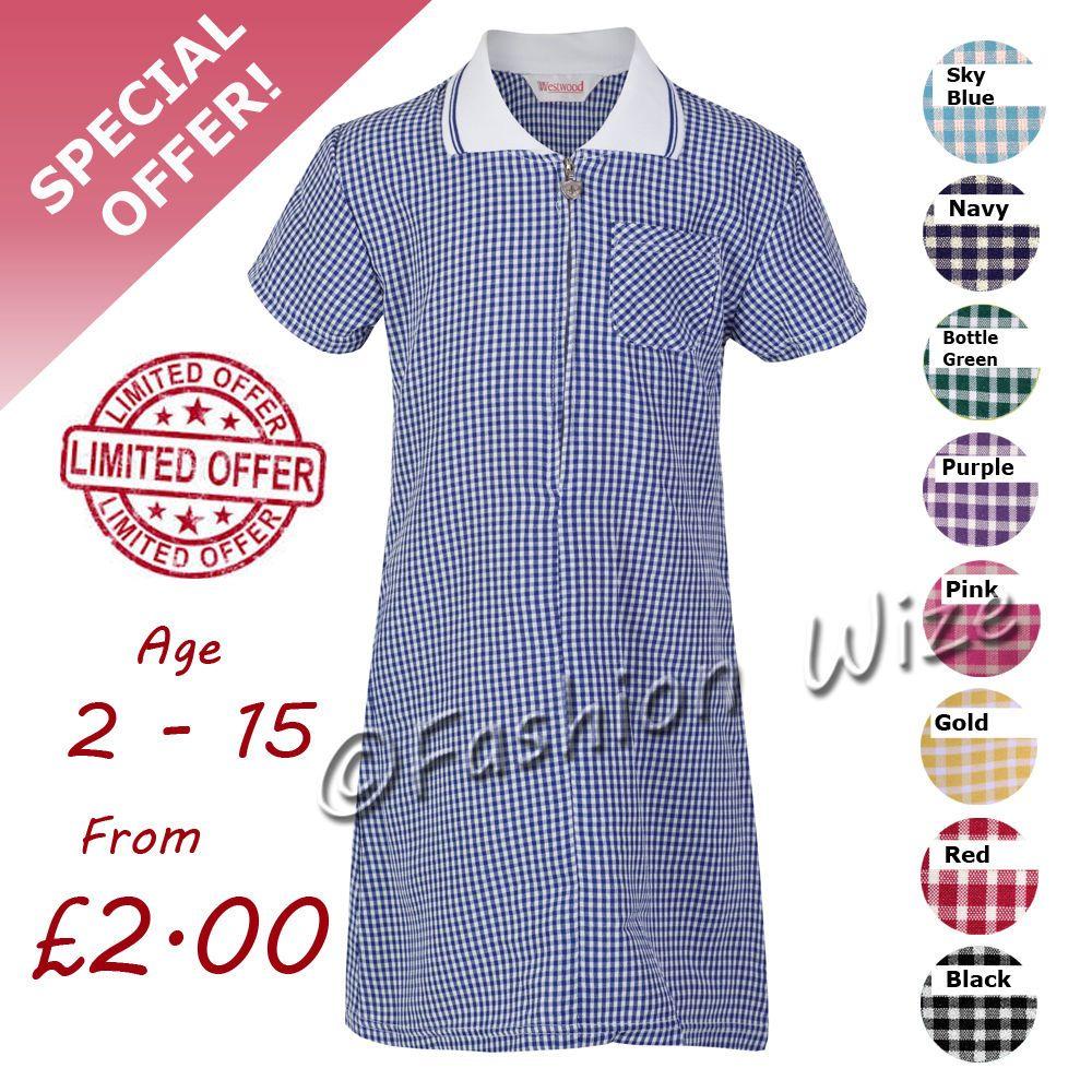 Purple summer school dresses