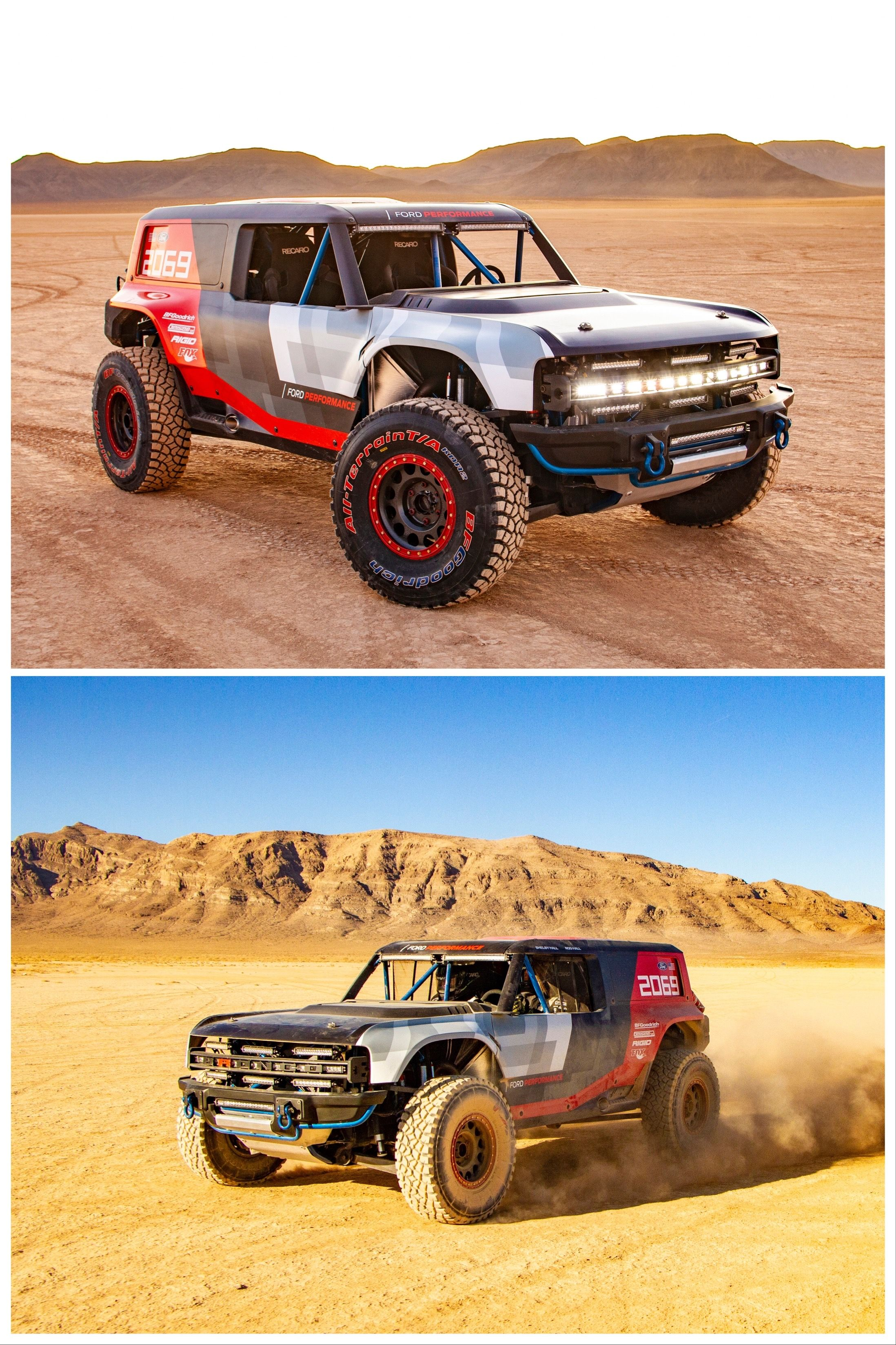 2021 Ford Bronco Details That Will Carry Over From The Baja Race Truck Bronco Ford Bronco Trucks