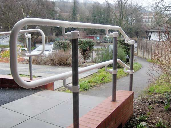 Best Ada Handrail D Return 400 x 300