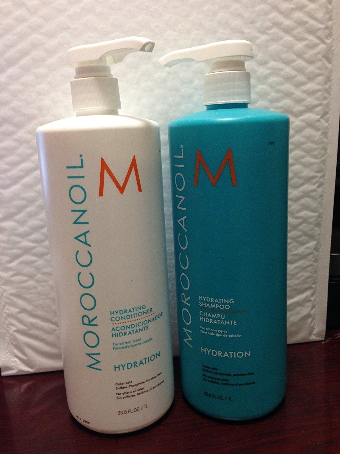 Moroccanoil Hydrating Shampoo and Conditioner 1 Liter