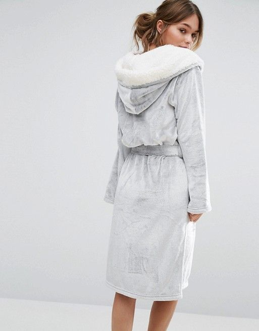 New Look | New Look Frosted Fluffy Robe | lingerie | Pinterest ...
