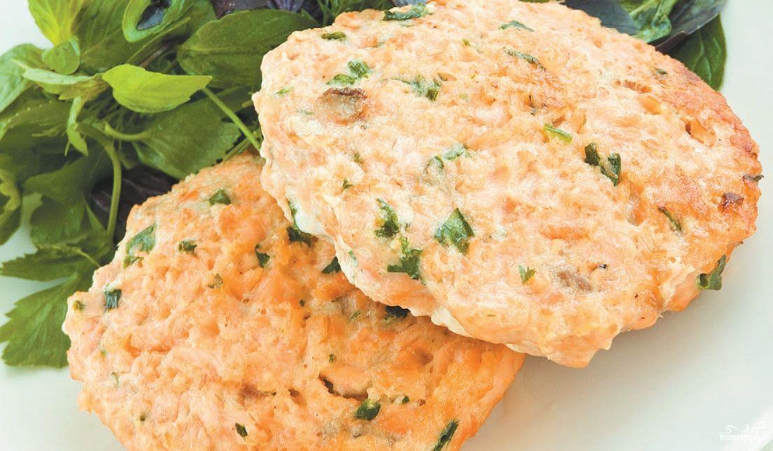 фарш из лосося рецепт