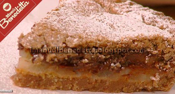 Crostata Di Pere E Cioccolato Con Farina Di Castagne Di Benedetta