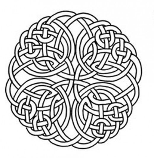 Celtic Design Art Coloring Pages For Kids Colouring Pictures to ...