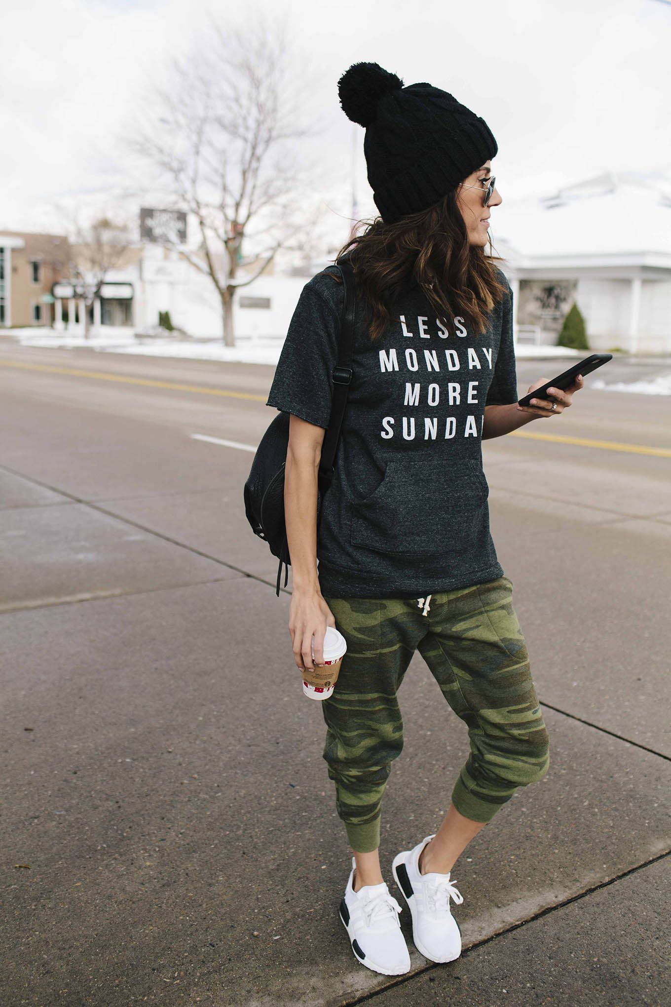 Joggers on Repeat   Fashion Tips   Sweatpants outfit, Casual