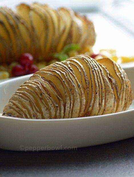 Easy Baked HasselBack Potatoes