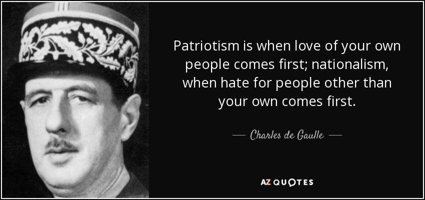 Charles De Gaulle Quote Patriotic Quotes 25th Quotes Quotes