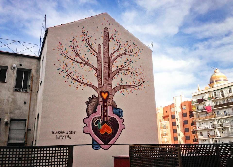 Street art utopia we declare the world as our - Utopia madrid ...
