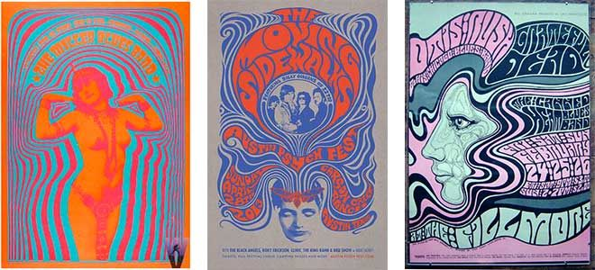 Psychedelic Style Graphic Design | Which graphic design style is ...