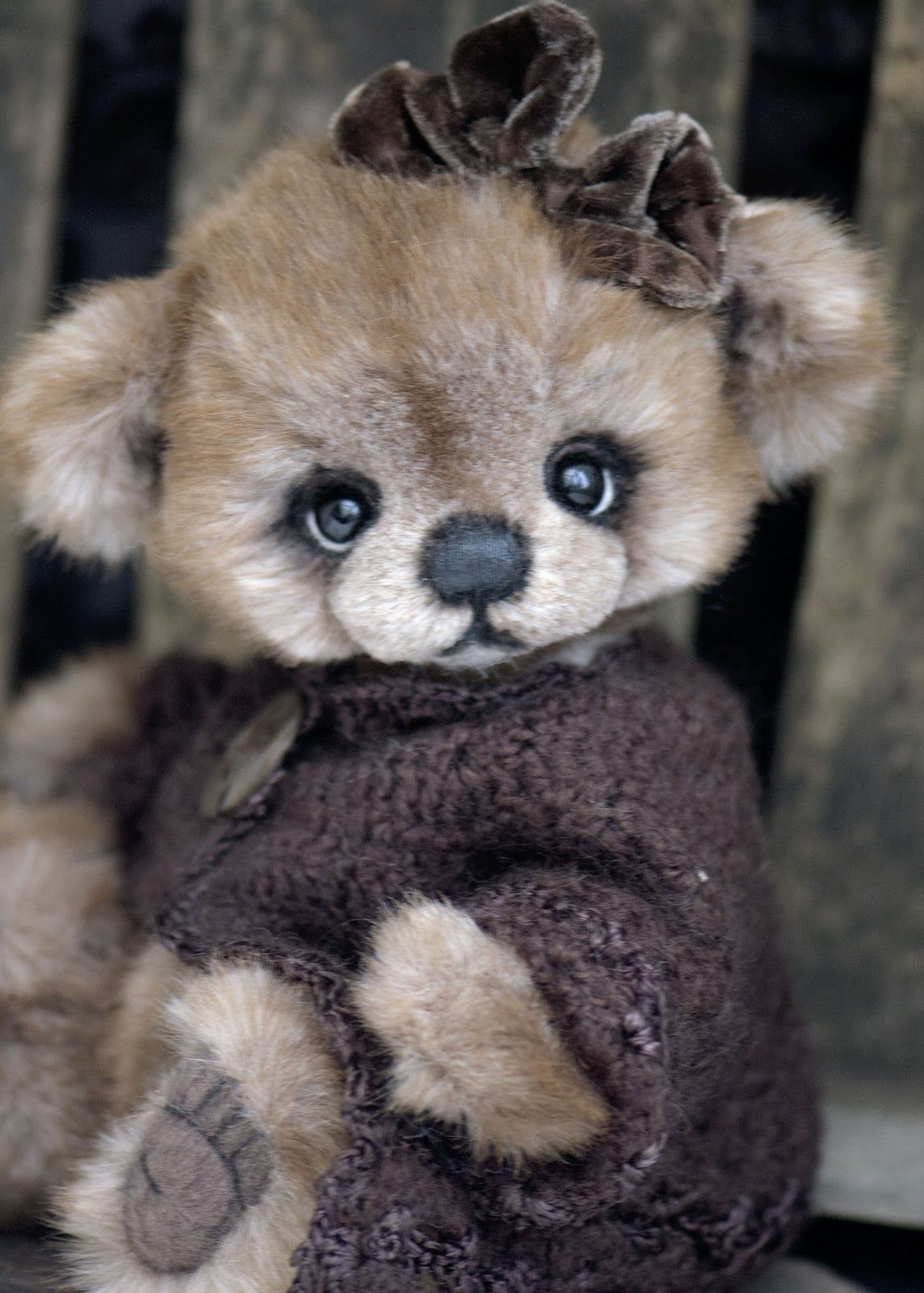 I have available a very sweet 12 inch bear available. Her ...