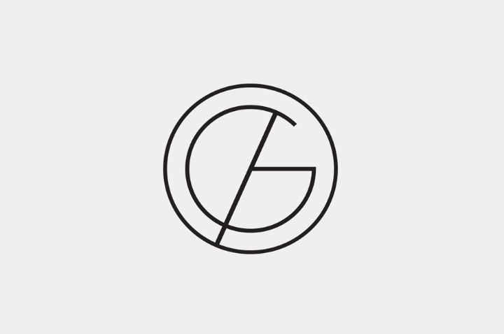 G - I like this monogram as it is very minimal and has curved yet a straight, sharp line. I chose to save this monogram as it contains similar shapes to mine.