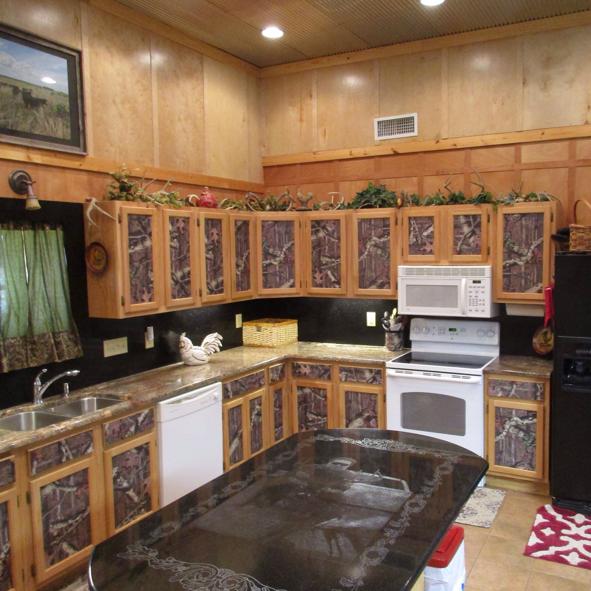 My Realtree Camo Kitchen Camo Living Rooms Kitchen Decor Kitchen Transformation