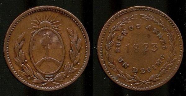 Emisión de Buenos Ayres 1822 Birmingham - CoNuVi