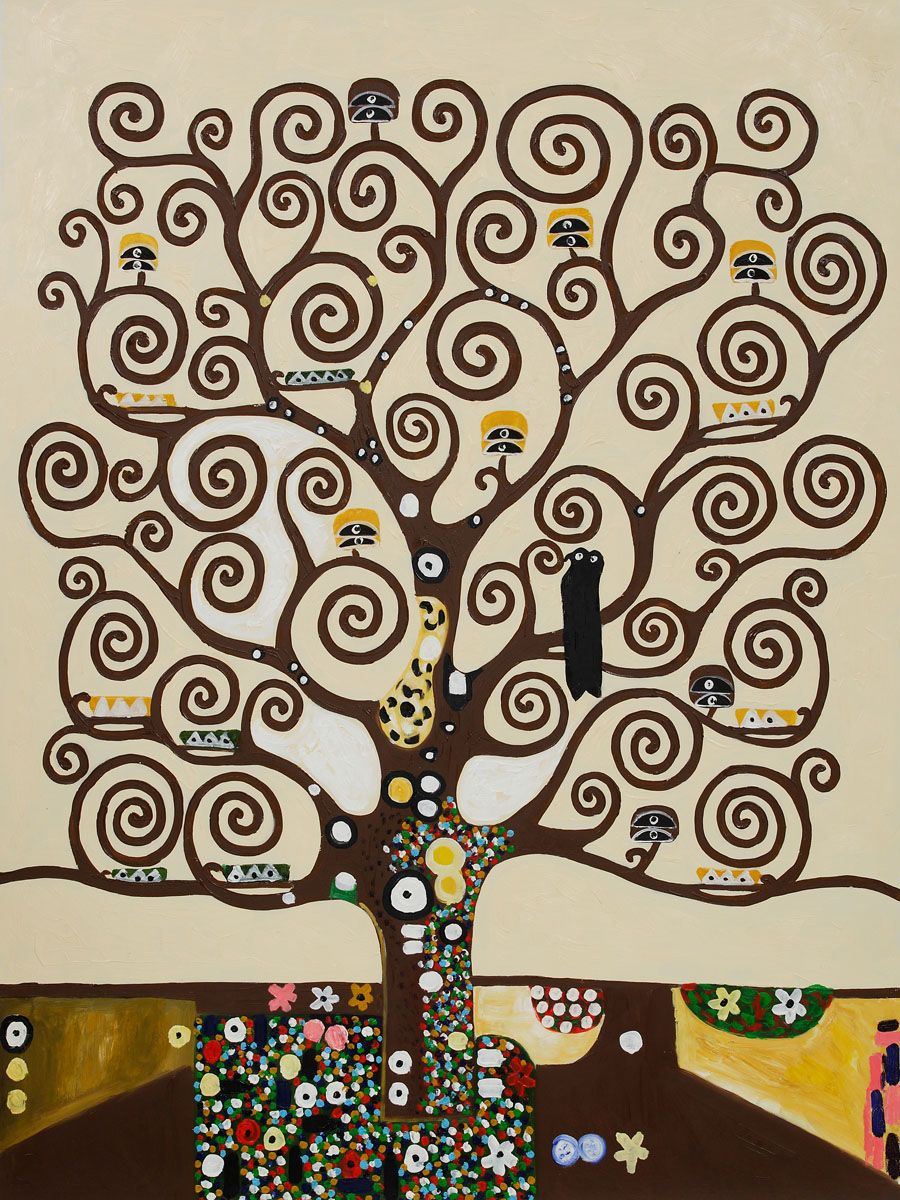 Which Museum Has Klimt S Tree Of Life Painting