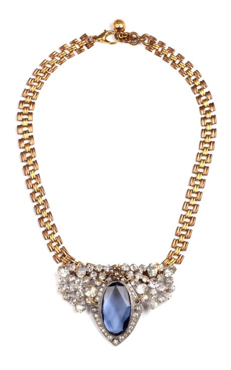 Shop 50 Year Collection One-of-a-Kind Crystal Necklace by Lulu Frost Now Available on Moda Operandi