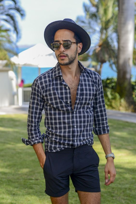 1c1cd0e60f Beach Outfit accesories with Sunglasses & hat— Mens Fashion Blog - The  Unstitchd