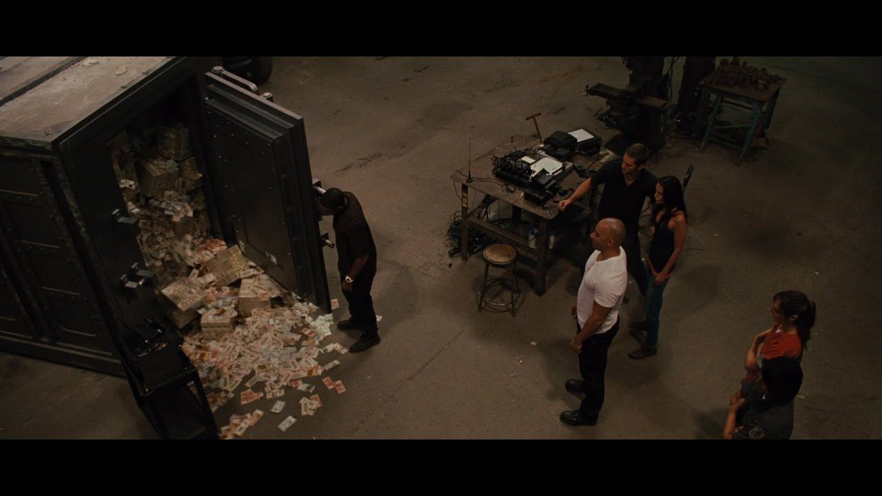 After splitting the stolen money, Dom's crew go their separate ways and decide to make this their last heist.