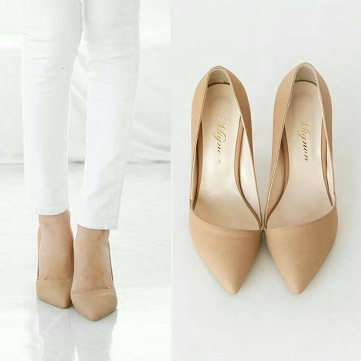 brand new 709ad ab943 30 diseños de zapatos en color nude ¡Combinan con todo!   Belleza