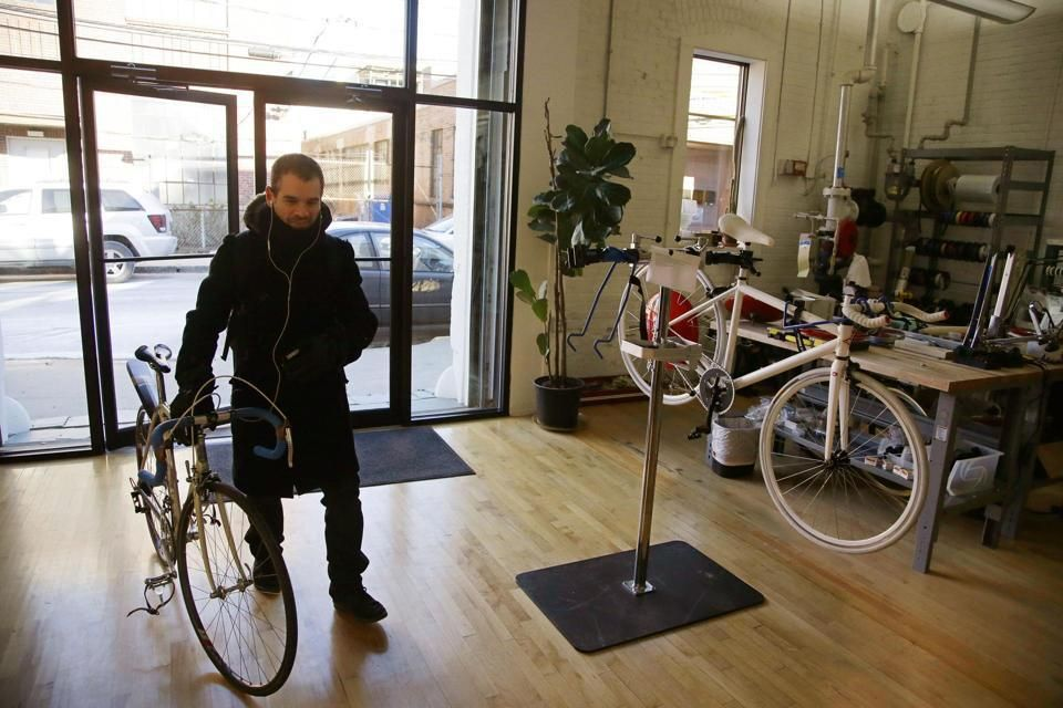 Electric bike maker charges into ridesharing the boston