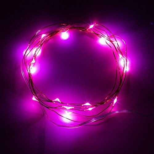 Mulucky 2m 6 5ft 20 Led Fil Guirlande Led Guirlande Lumineuse Lampe A Piles Xmas Party Holiday Garden Guirlande Lumineuse Guirlande Led Decoration Halloween