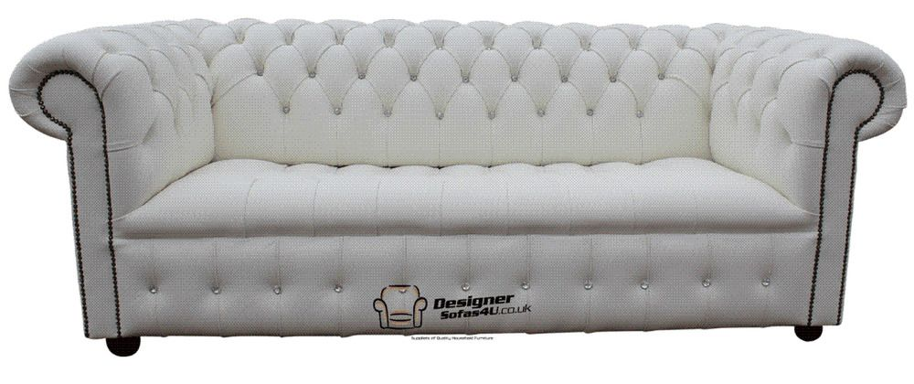 Pleasant Details About Chesterfield Diamante Crystal 3 Seater Button Home Interior And Landscaping Dextoversignezvosmurscom