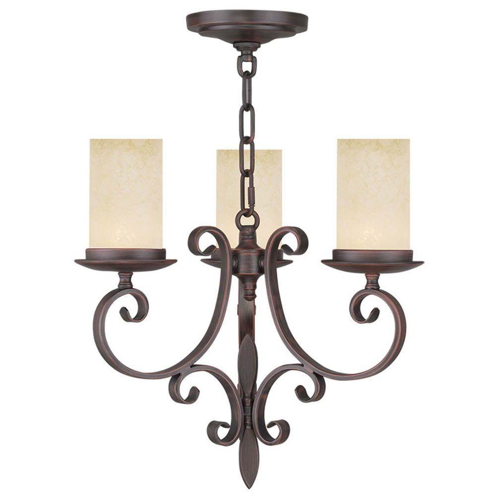 Filament design providence light imperial bronze incandescent