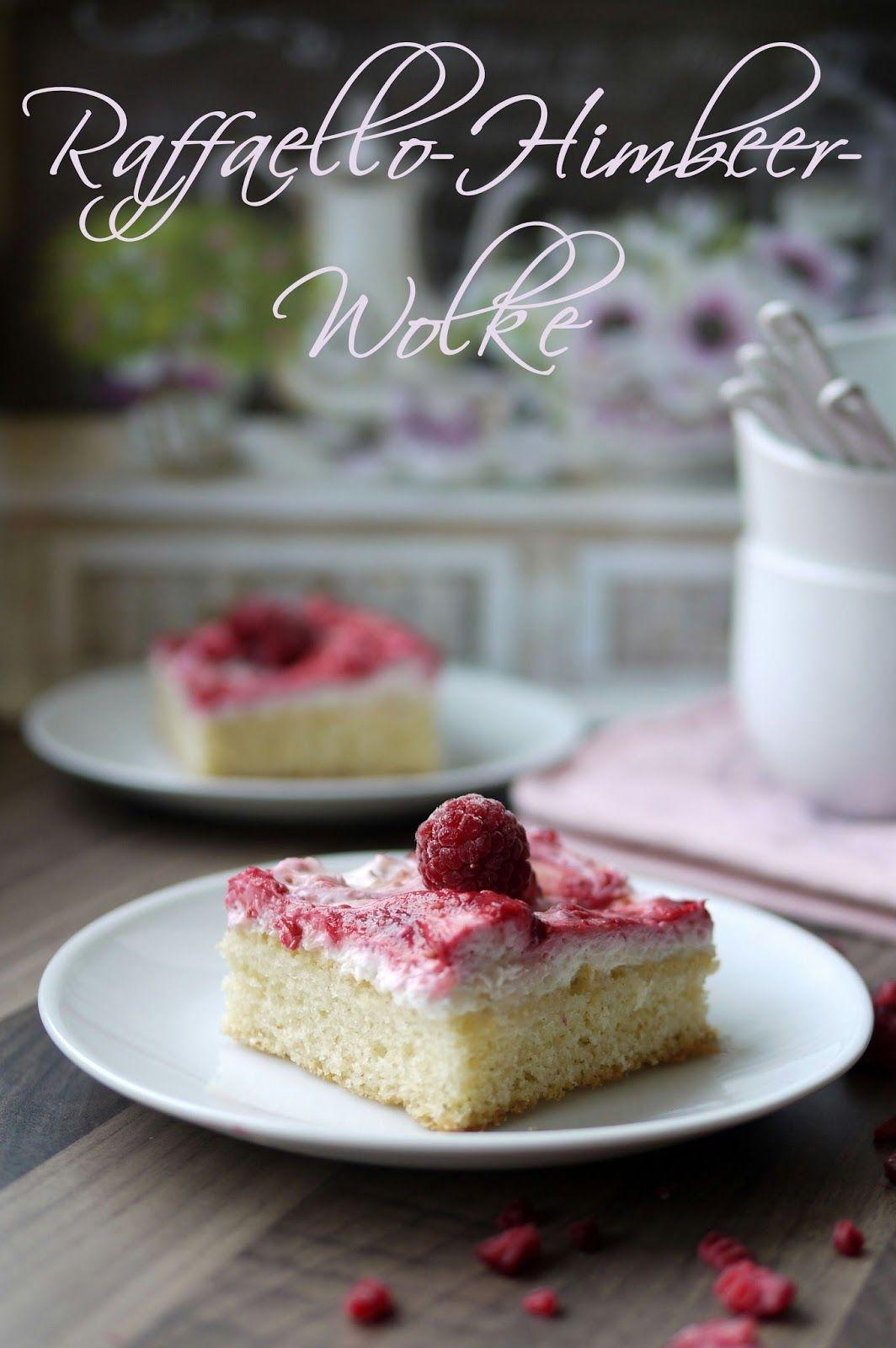 Raffaello Himbeer Wolke Desserts Ohne Backen Einfacher Nachtisch Und Kuchen Und Torten